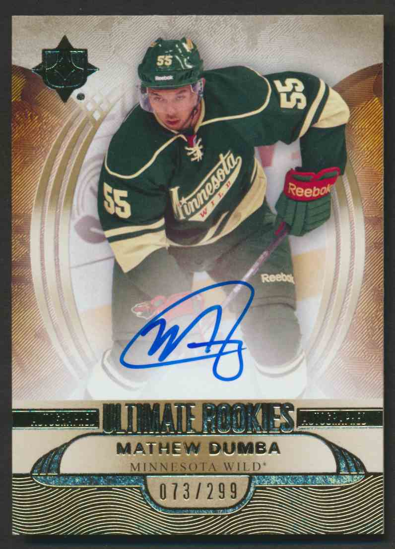 2013-14 Upper Deck Ultimate Rookies Mathew Dumba #138 card front image