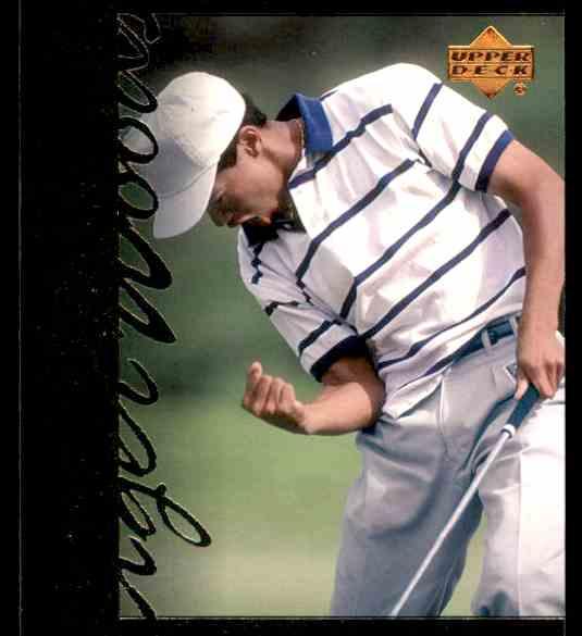 2001 Upper Deck Tiger Woods #TT6 card front image