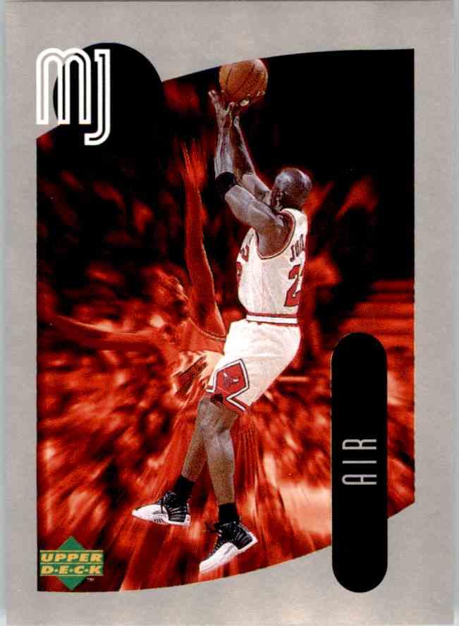 1998-99 Upper Deck Michael Jordan You Tube Michael Jordan #128 card front image