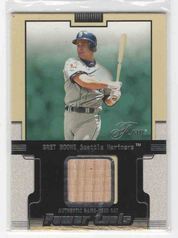 2002 Fleer Flair Power Tools Bret Boone card front image