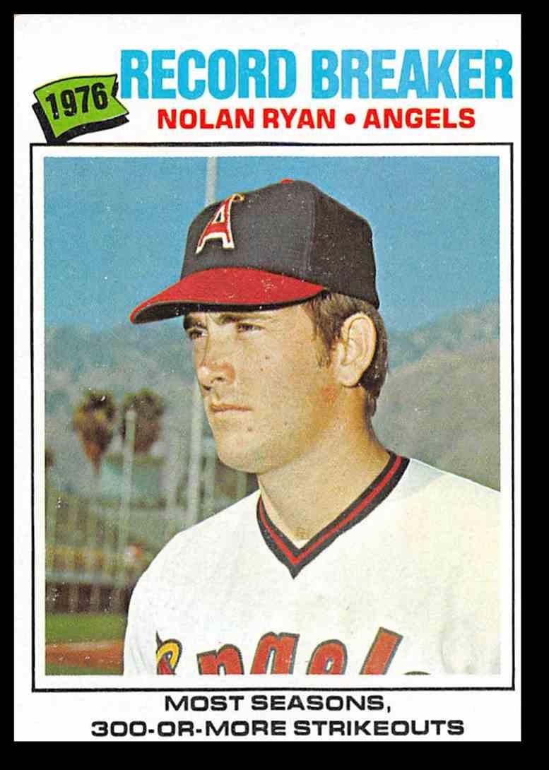 1977 Topps Nolan Ryan Rb Baseball Card 234 On Kronozio
