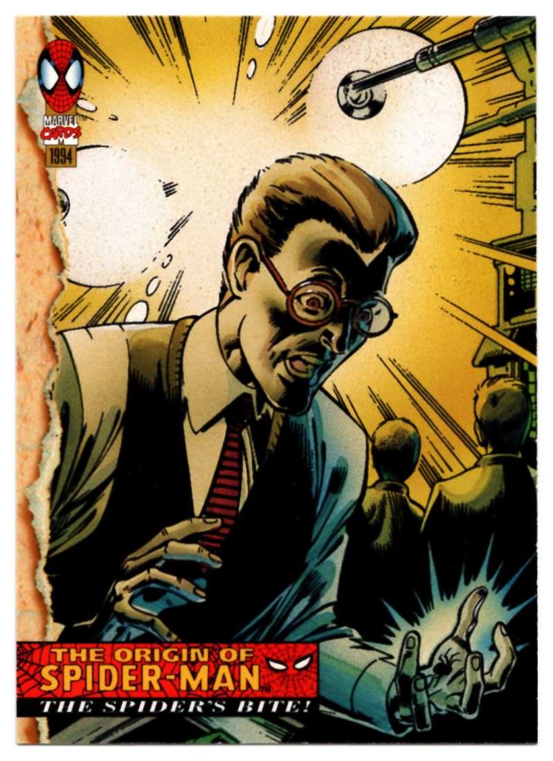 1994 Amazing Spider-Man Shte Spider's Bite #128 card front image