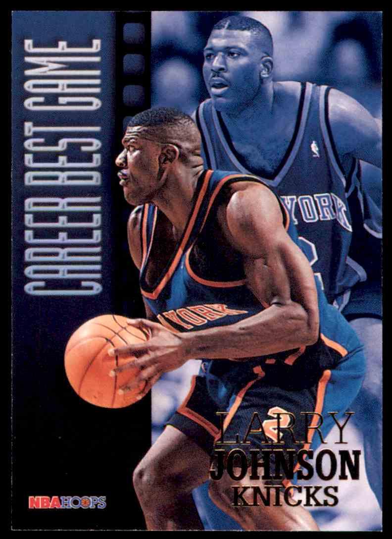1996 97 Nba Hoops Larry Johnson Cbg 334 On Kronozio