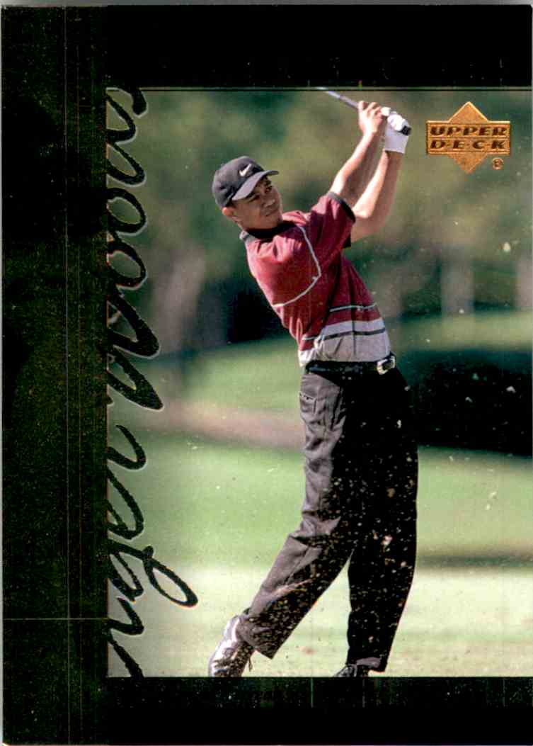 2001 Upper Deck Tiger's Tales Tiger Woods #TT20 card front image