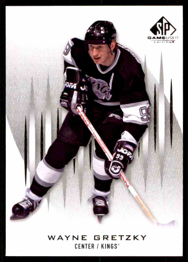2013-14 SP Game Used Wayne Gretzky #56 card front image