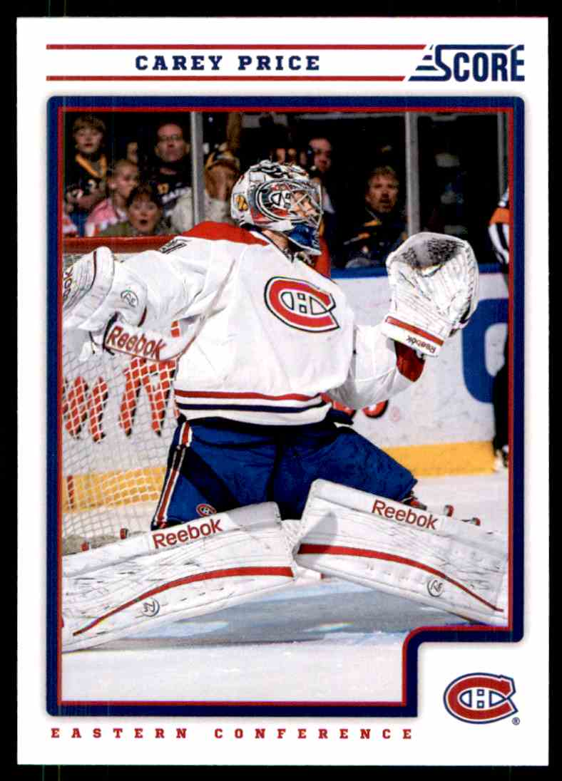 2012-13 Score Carey Price #251 card front image
