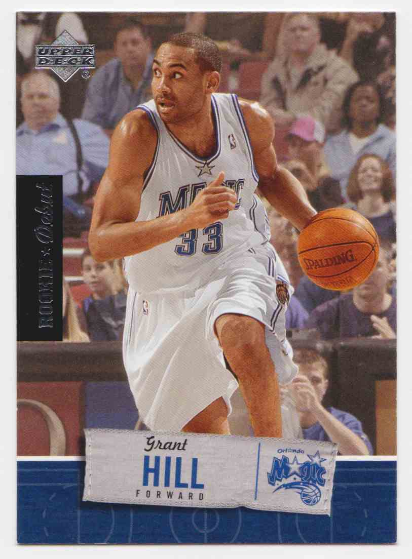 2005 06 Upper Deck Rookie Debut Base Grant Hill 67 On