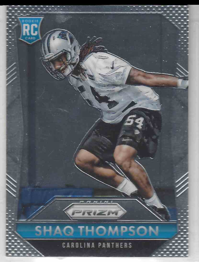 2015 Shaq Thompson Base Shaq Thompson Rookie Card Rc