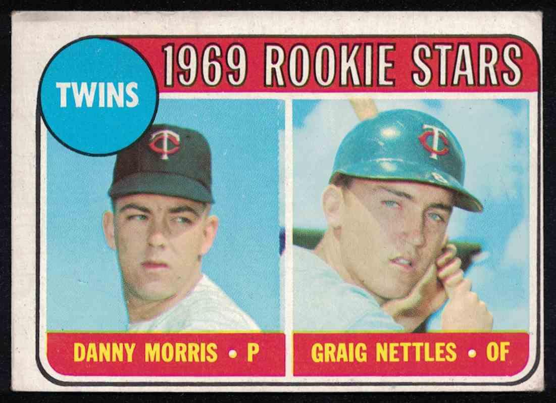 1969 Topps Graig Nettles VG-EX #99 card front image