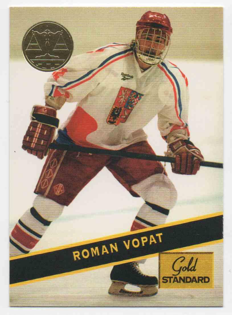 1994-95 Signature Rookies Gold Standard Roman Vopat #97 card front image