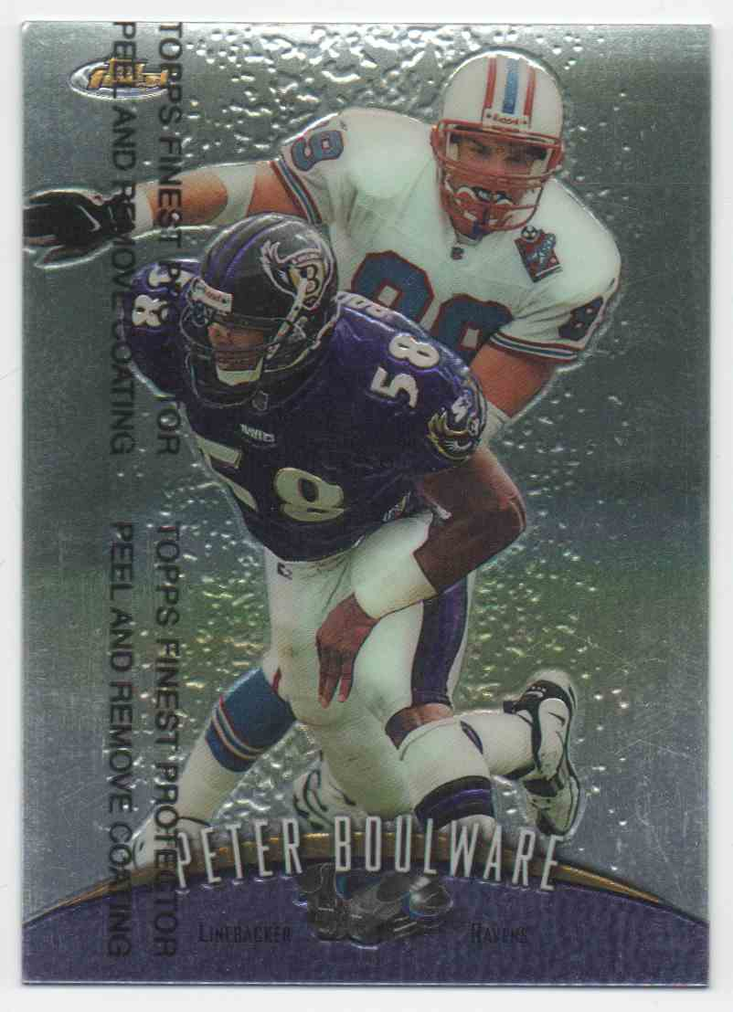 1998 Finest Peter Boulware #119 card front image