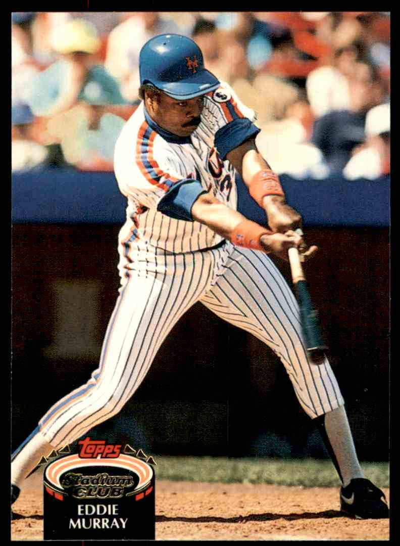 1992 Stadium Club Eddie Murray #795 card front image