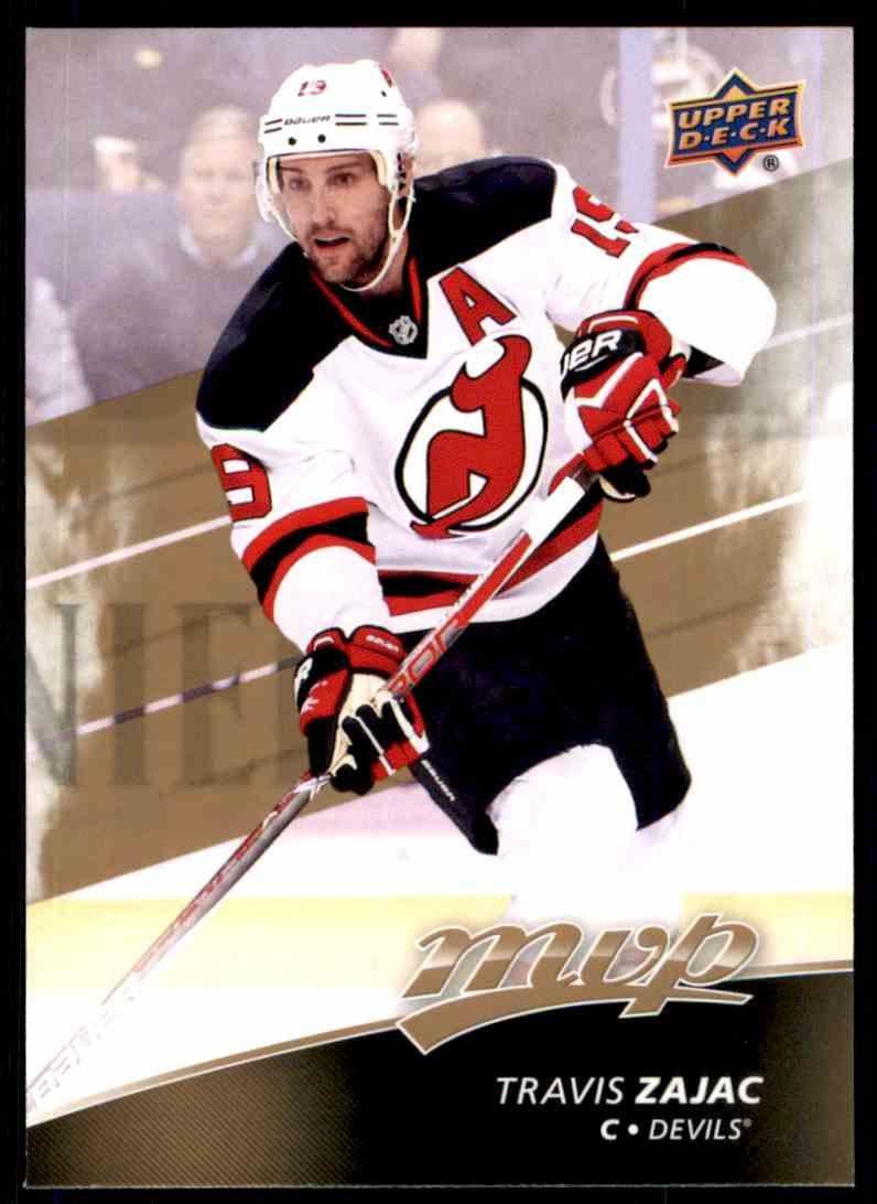 2017-18 MVP Hockey Travis Zajac  144 card front image fa7c7ba24d4
