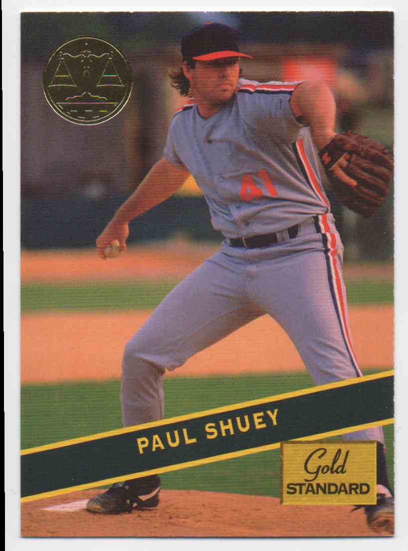 1994 Signature Rookies Gold Standard Paul Shuey #70 card front image