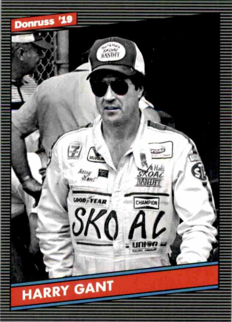 2019 Donruss Silver Harry Gant Retro #160 card front image