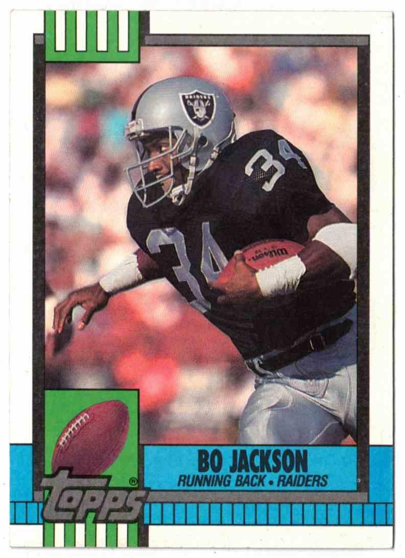 1990 Topps Bo Jackson #285 card front image