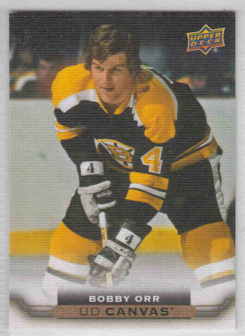 2015-16 UD Canvas Bobby Orr #C253 card front image