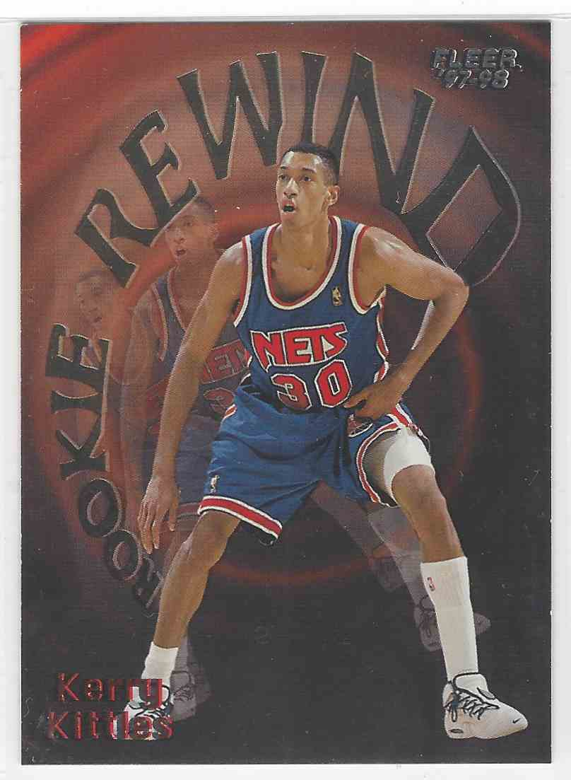 23 Kerry Kittles trading cards for sale