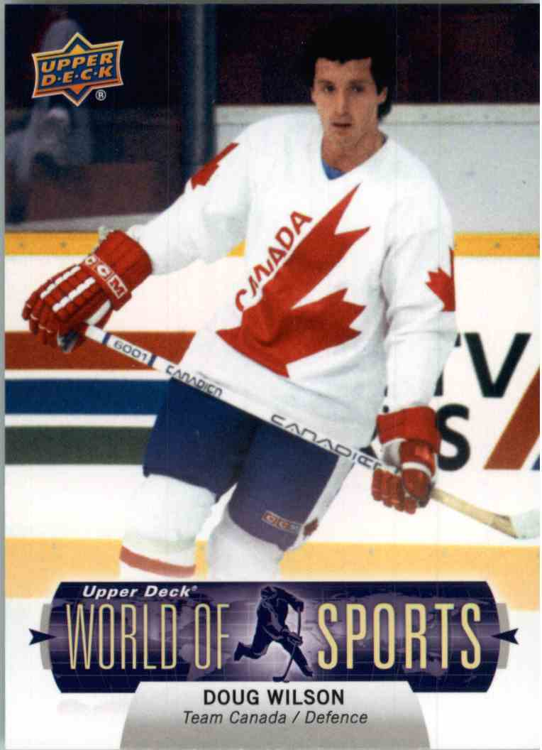 2011 Upper Deck World Of Sports Doug Wilson #155 card front image