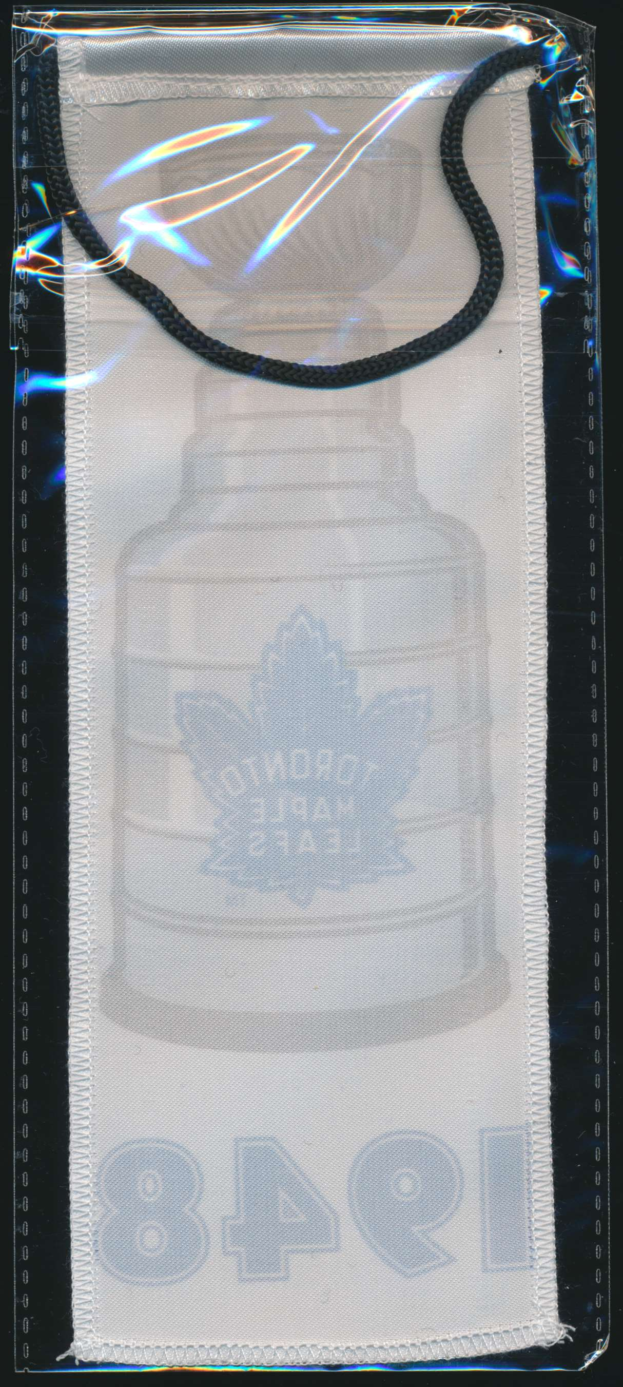 2017-18 Maple Leafs Centennial Banners 1948 Stanley Cup Banner card back image
