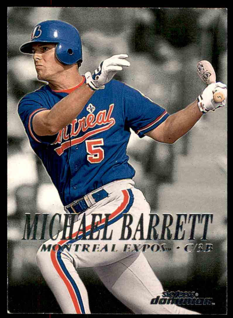 2000 SkyBox Dominion Michael Barrett #111 card front image