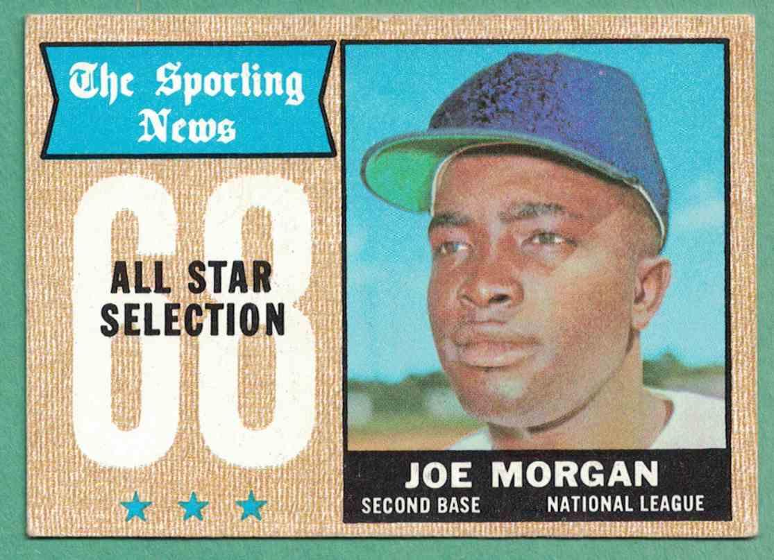 1968 Topps Joe Morgan All-Star VG-EX surface wear #364 card front image