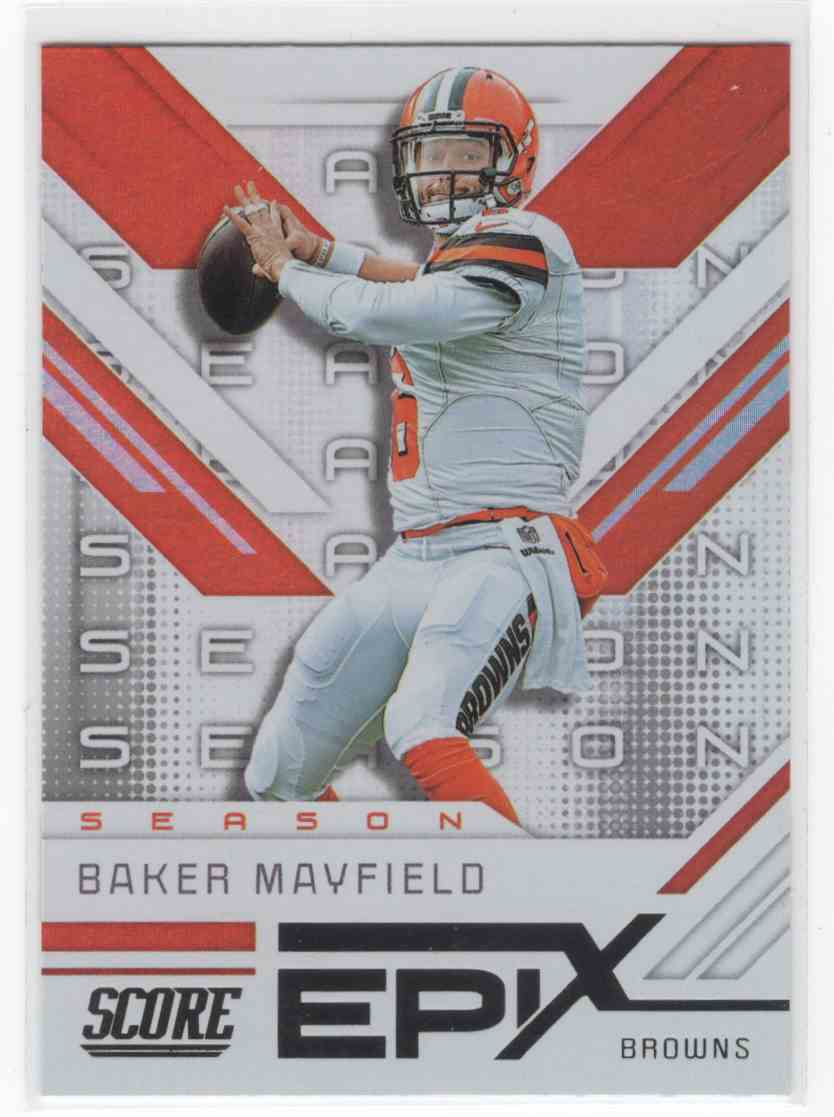 2019 Panini Score Baker Mayfield #ES-10 card front image