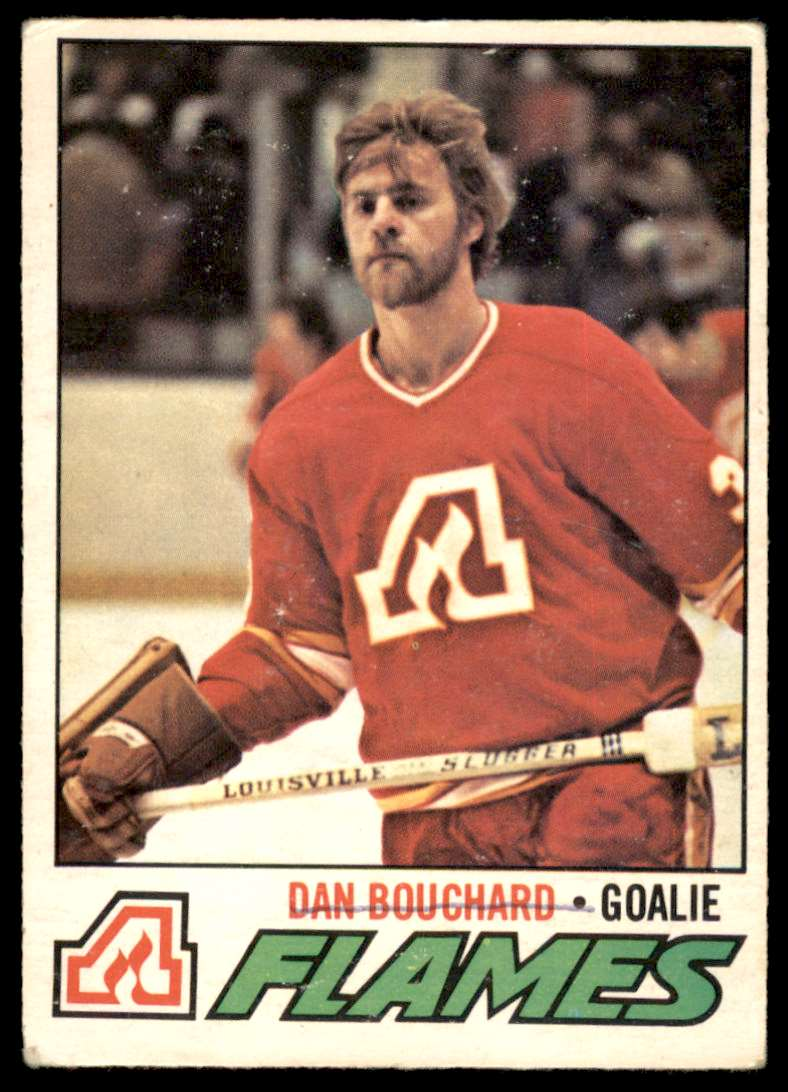 1977-78 OPC Dan Bouchard #37 card front image