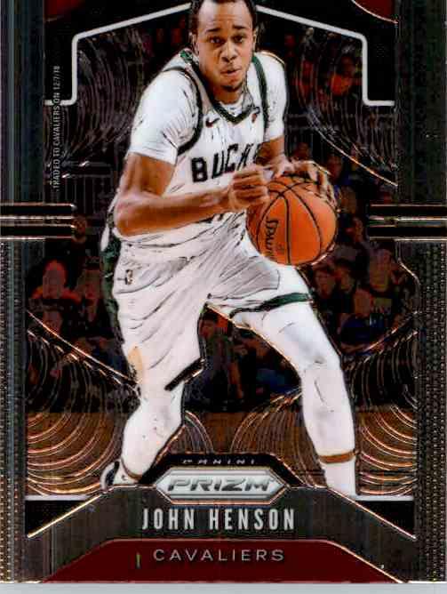 2019-20 Panini Prizm Basketball Prizm John Henson #207 card front image