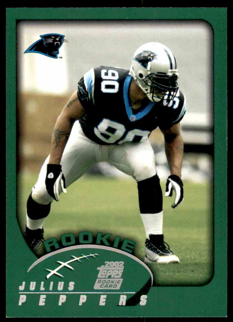 c5da572de Details about 2002 Topps Julius Peppers RC Panthers  359