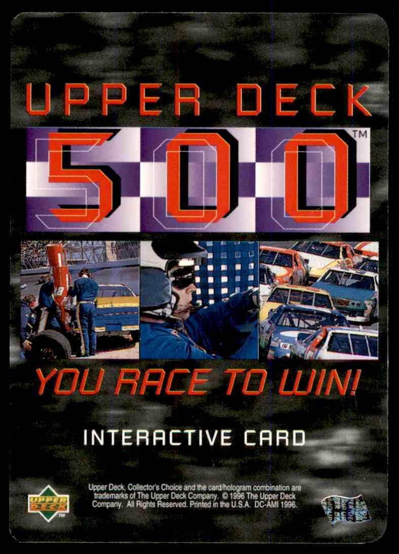 1996 Upper Deck Derrike Cope #UD23 card back image