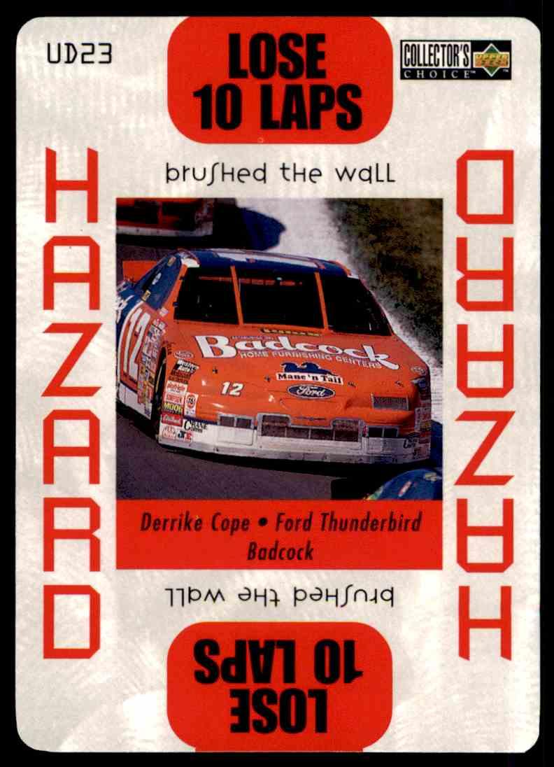 1996 Upper Deck Derrike Cope #UD23 card front image