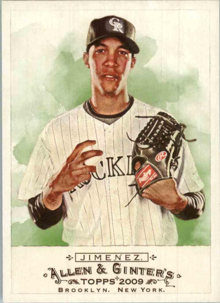 2009 Topps Allen Ginter Ubaldo Jimenez 49 Card Front Image