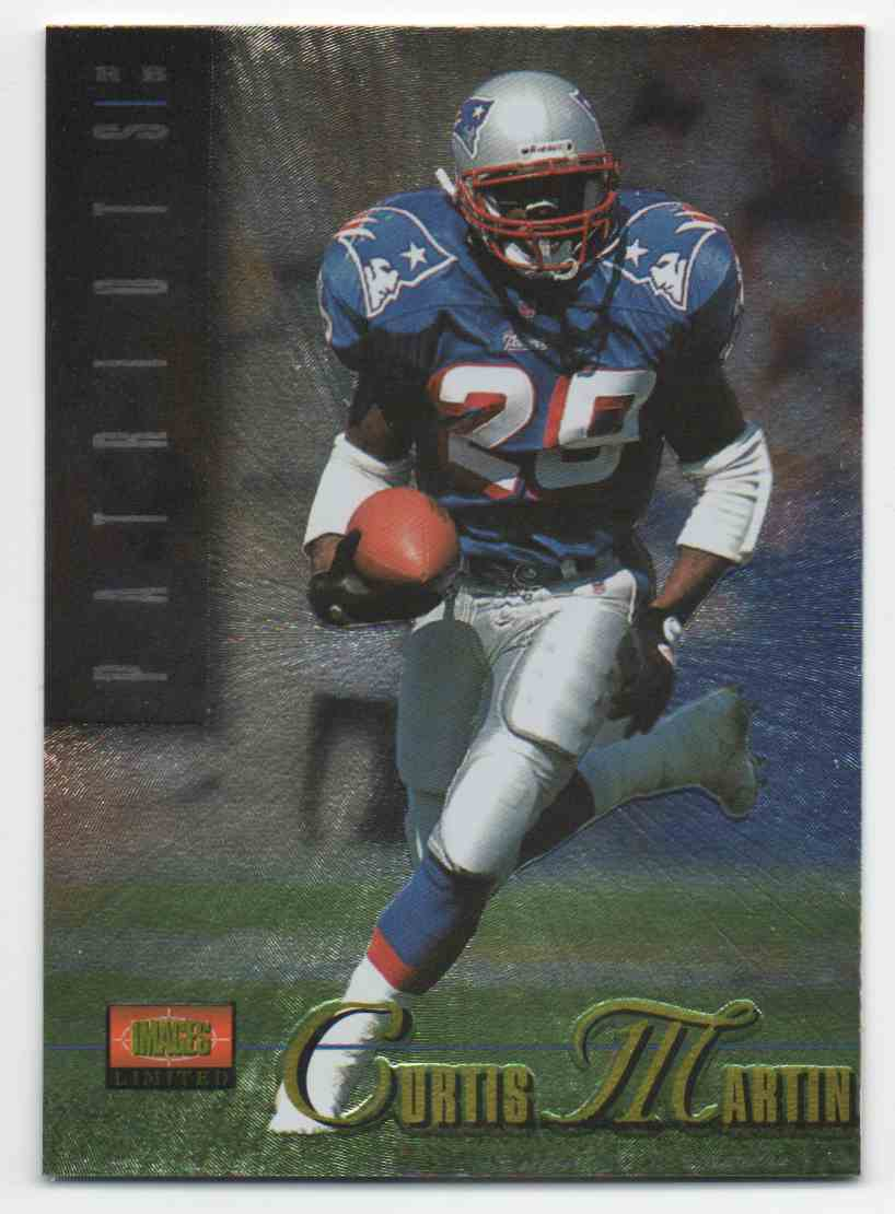 1995 Classic Images Limited Curtis Martin #115 card front image
