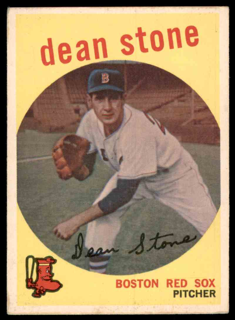 1959 Topps Dean Stone #286 card front image
