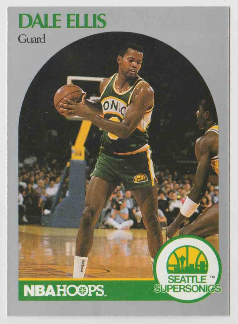 1990 91 NBA Hoops Dale Ellis 277 on Kronozio