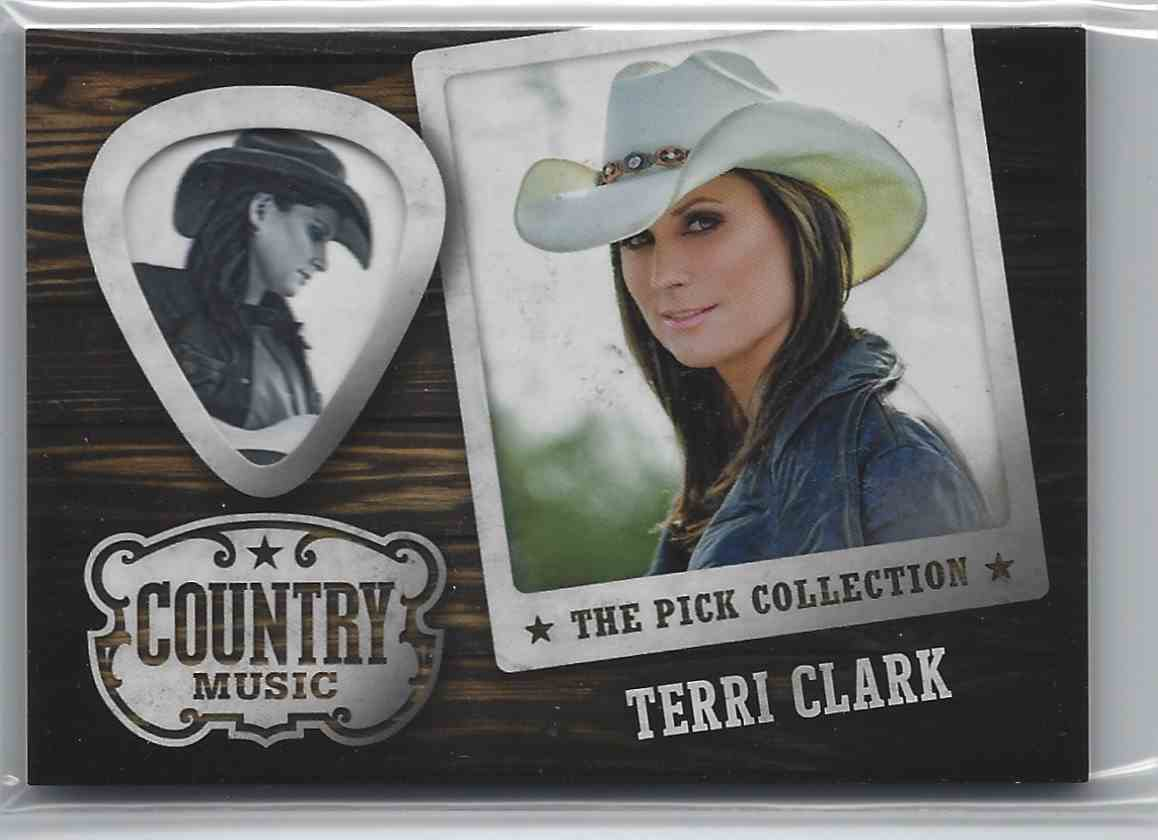 2015 Country Music Pick Collection Terri Clark #2 card front image