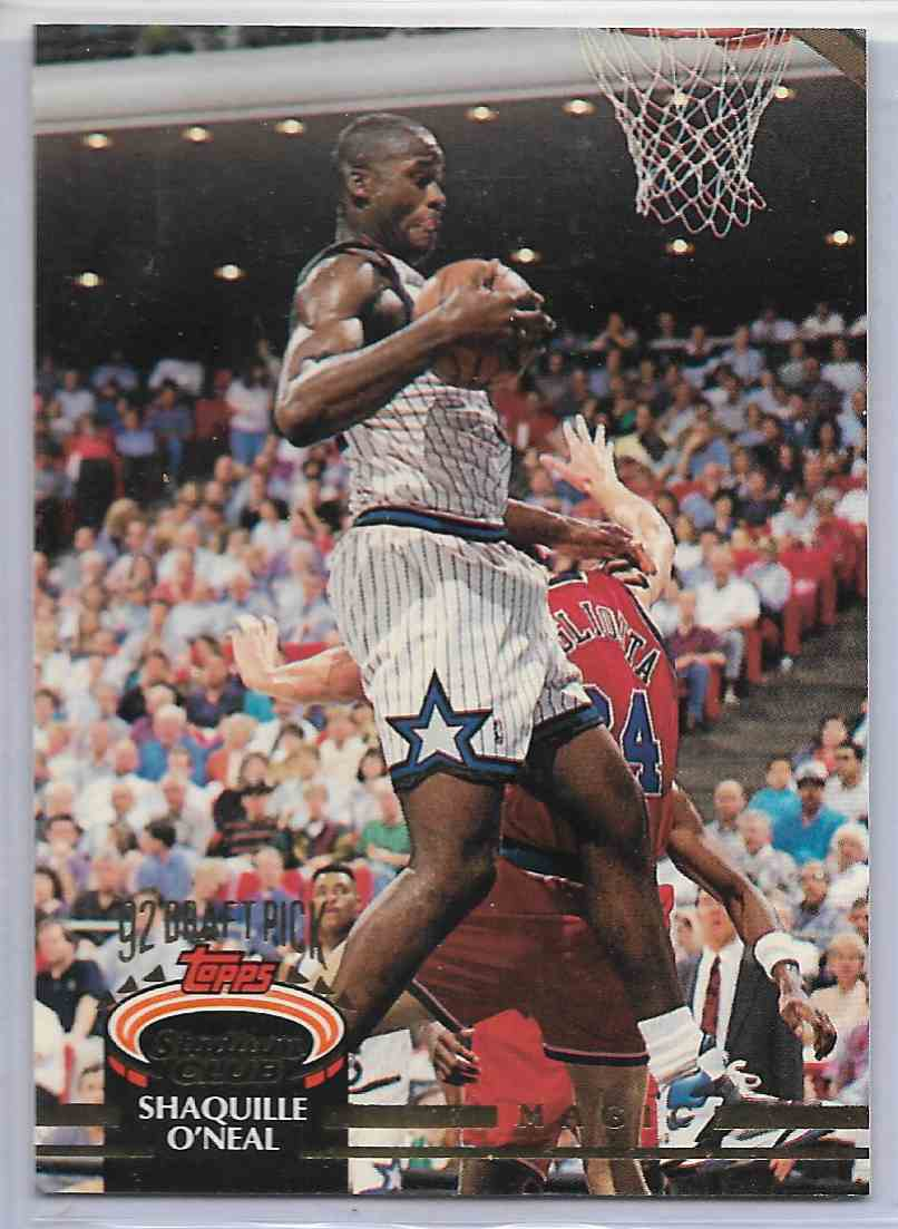 1993-94 Topps Stadium Club Shaquiile O`Neal #247 card front image