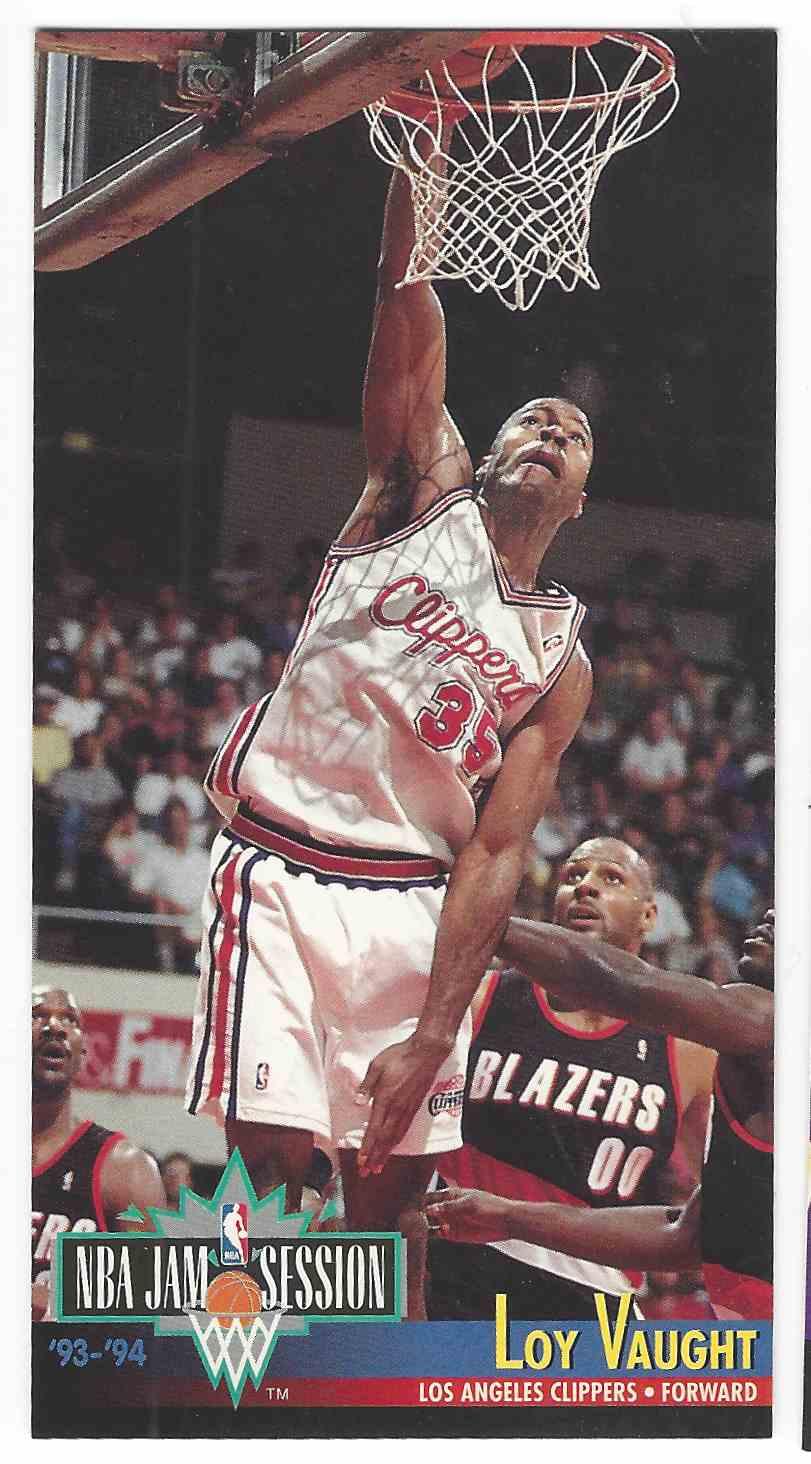1993 94 Fleer NBA Jam Session Loy Vaught 100 on Kronozio