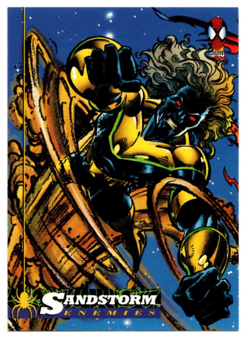 1994 Amazing Spider-Man Sandstorm #37 card front image