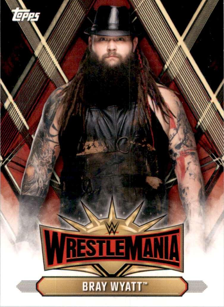 2019 Topps Wwe Road To WrestleMania WrestleMania 35 Roster Bray Wyatt #WM40 card front image