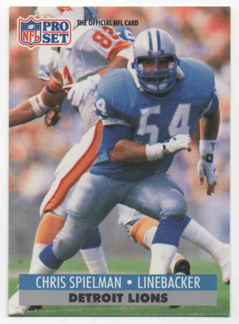 outlet store 5df40 e2acf 1991 Pro Set Chris Spielman #503 on Kronozio