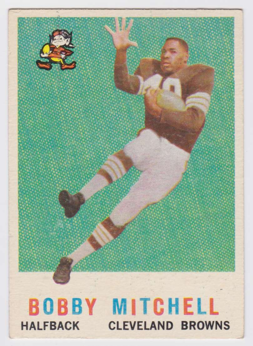 1959 Tcg Bobby Mitchell #140 card front image