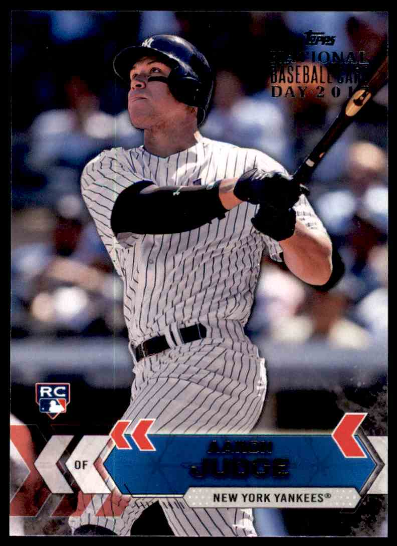 2017 Topps National Baseball Card Day Aaron Judge Nyy 2