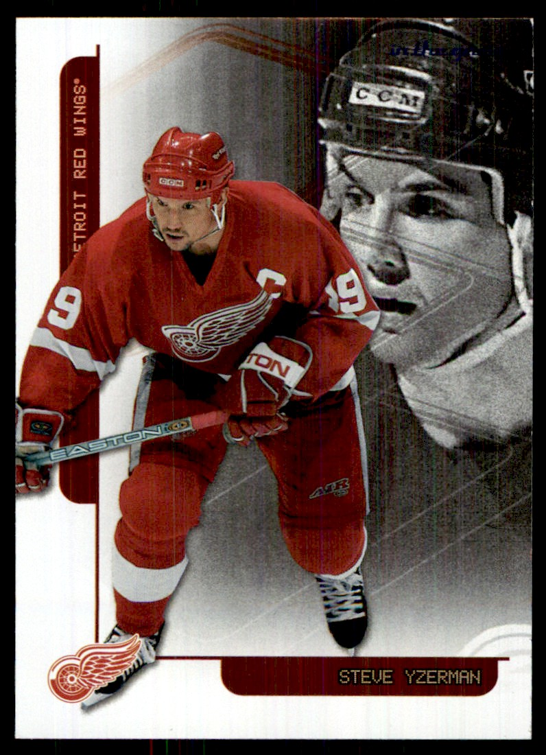 2003-04 In The Game Toronto Star Foil Steve Yzerman #F-2 card front image