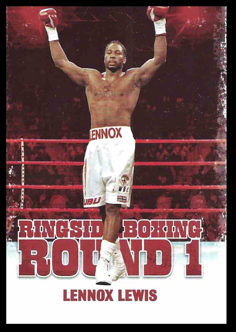 2010 Sport Kings Ringside Boxing Lennox Lewis #31 card front image