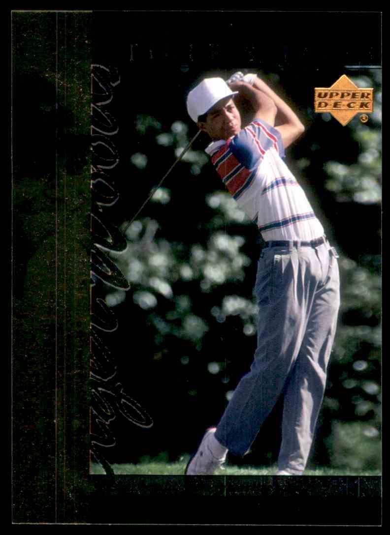2001 Upper Deck Tiger's Tales Tiger Woods #TT5 card front image