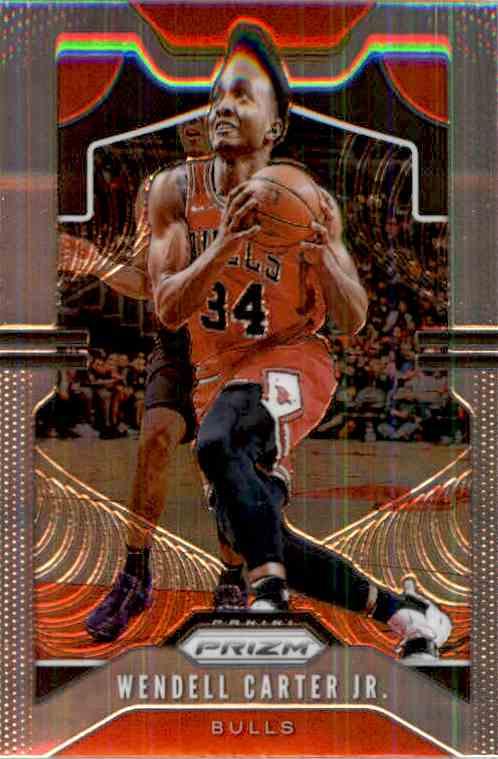 2019-20 Panini Prizm Basketball Prizm Wendell Carter JR. #65 card front image
