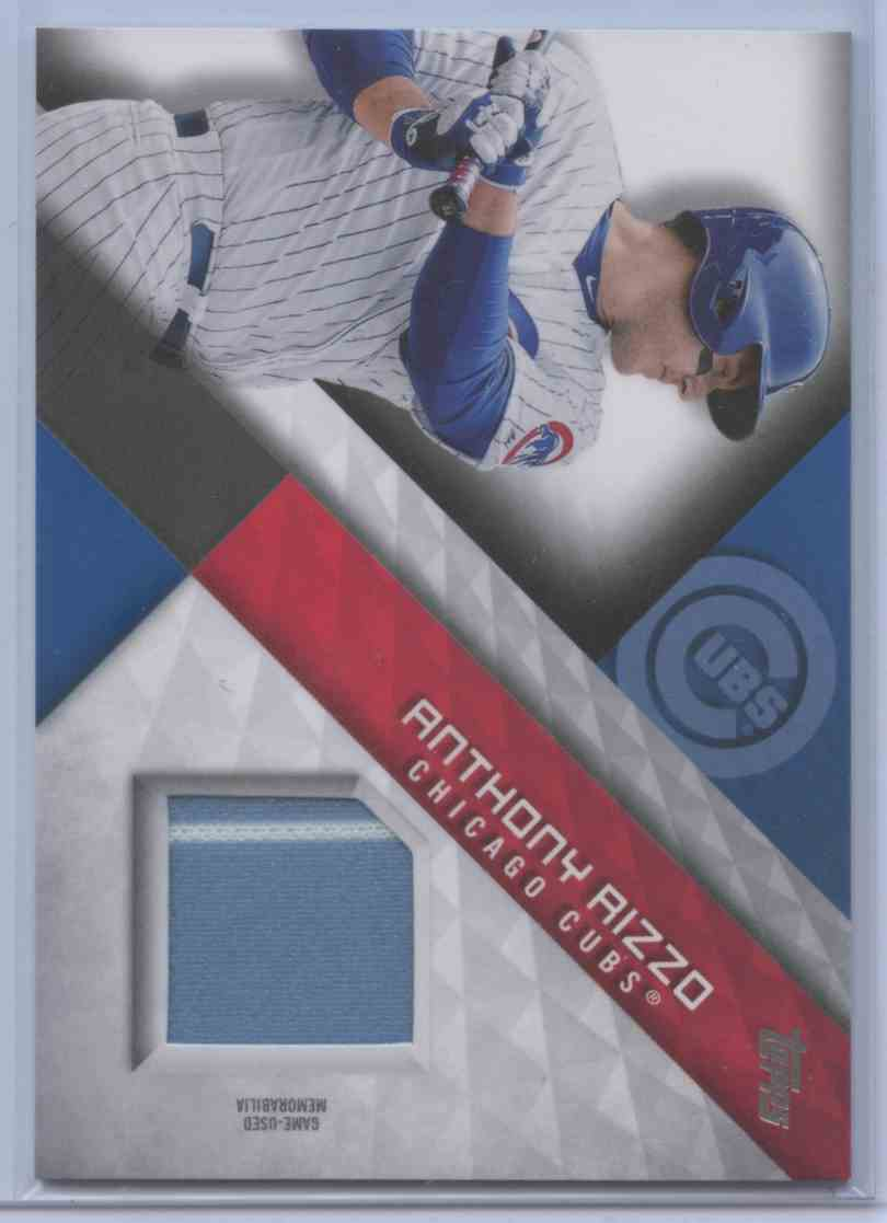 2019 Topps Series II Anthony Rizzo #MLM-AI card front image