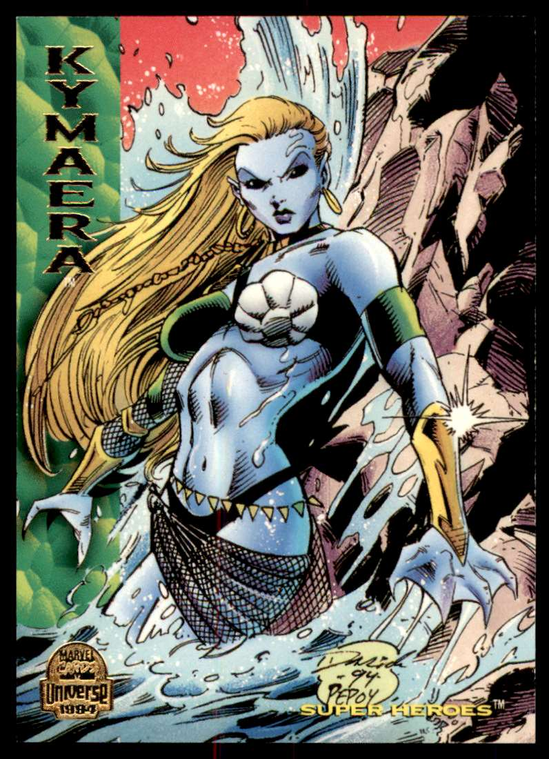 1994 Marvel Universe Kymaera #167 card front image